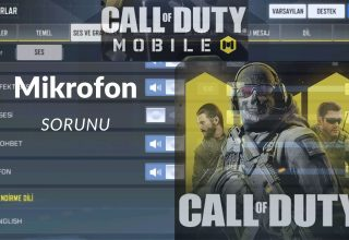 Call Of Duty Mobile mikrofon sorunu ve çözümü